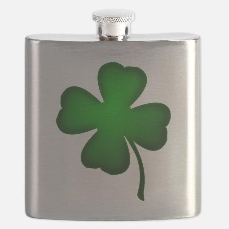 Four Leaf Clover Flask