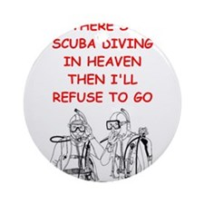scuba diving Ornament (Round)
