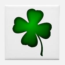 Four Leaf Clover Tile Coaster