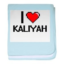I Love Kaliyah baby blanket