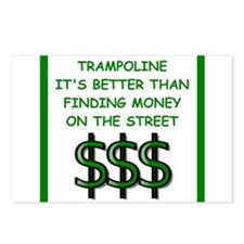 trampoline Postcards (Package of 8)