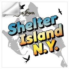 Shelter Island New York NY Long Island Wall Decal