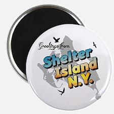 Shelter Island New York NY Long Island Magnet