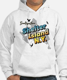 Shelter Island New York NY Long  Hoodie