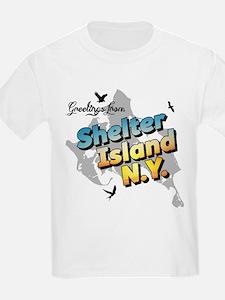 Shelter Island New York NY Long Isla T-Shirt