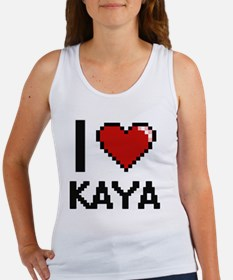 I Love Kaya Tank Top