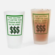 pole vaulting Drinking Glass
