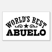 World's Best Abuelo Decal