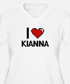 I Love Kianna Plus Size T-Shirt