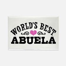 World's Best Abuela Rectangle Magnet