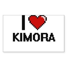 I Love Kimora Decal