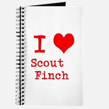 I Heart Scout Finch Journal
