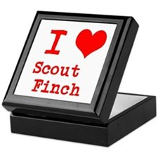 I Heart Scout Finch Keepsake Box