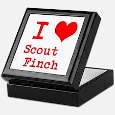 I Heart Scout Finch Keepsake Box