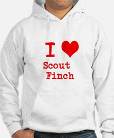 I Heart Scout Finch Hoodie