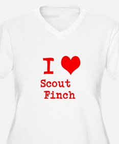 I Heart Scout Finch Plus Size T-Shirt