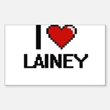 I Love Lainey Decal