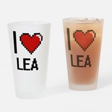 Cute Lea Drinking Glass