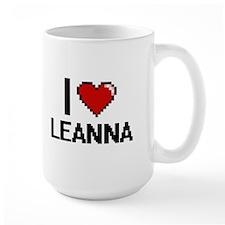 I Love Leanna Mugs