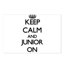 Keep Calm and Junior ON Postcards (Package of 8)