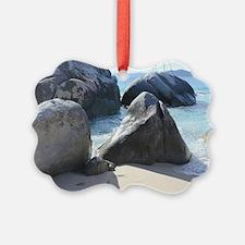 Blissful Beach Ornament
