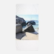 Blissful Beach Beach Towel