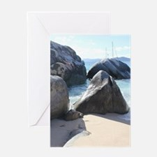 Blissful Beach Greeting Cards
