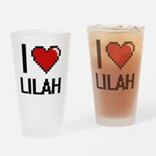 Unique Lilah Drinking Glass