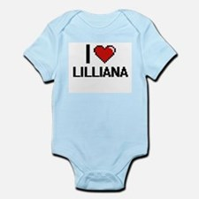 I Love Lilliana Body Suit