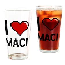 Unique Maci Drinking Glass