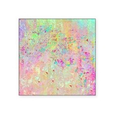 "Abstract in Confetti Square Sticker 3"" x 3"""