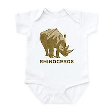 Vintage Rhinoceros Onesie