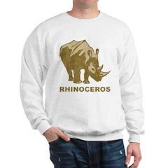 Vintage Rhinoceros Sweatshirt