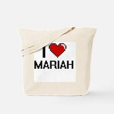I Love Mariah Tote Bag