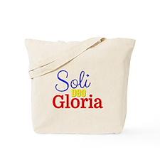 Soli Deo Gloria - Primary Colors Tote Bag