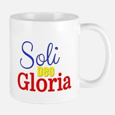 Soli Deo Gloria - Primary Colors Mug