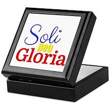 Soli Deo Gloria - Primary Colors Keepsake Box