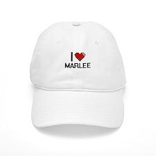 I Love Marlee Baseball Cap