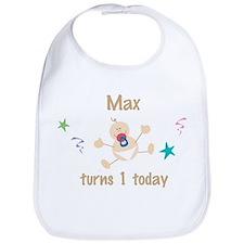 Max turns 1 today Bib