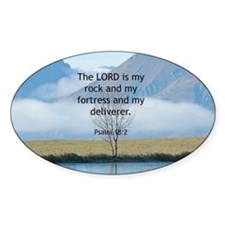 Psalm 18:2 Bible Verse Decal