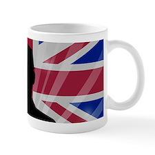 Military Salute On England Flag Mugs