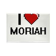 I Love Moriah Magnets