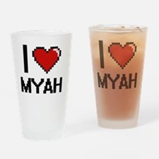 Unique Myah Drinking Glass
