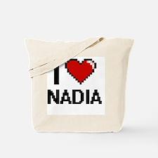 Cute Nadia Tote Bag