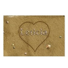 Leticia Beach Love Postcards (Package of 8)