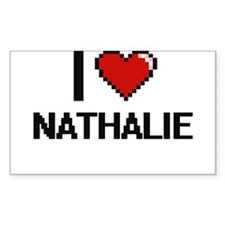 I Love Nathalie Decal