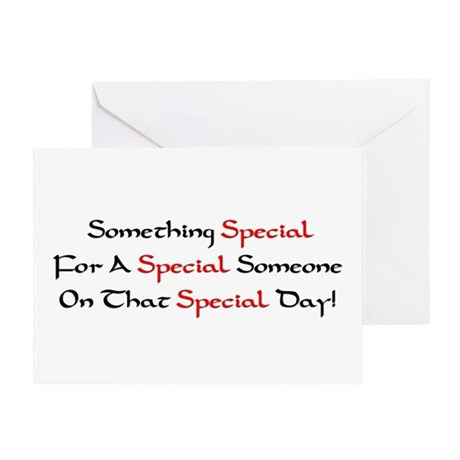 """Something Special/Happy Birthday Asshole!"" Card"
