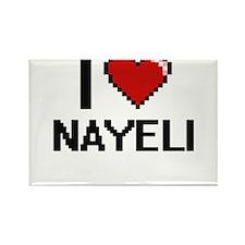 I Love Nayeli Magnets