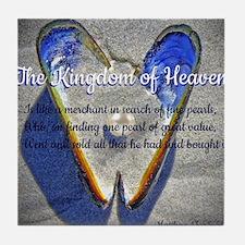 The kingdom of Heaven Tile Coaster