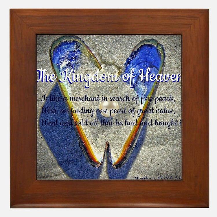 The kingdom of Heaven Framed Tile